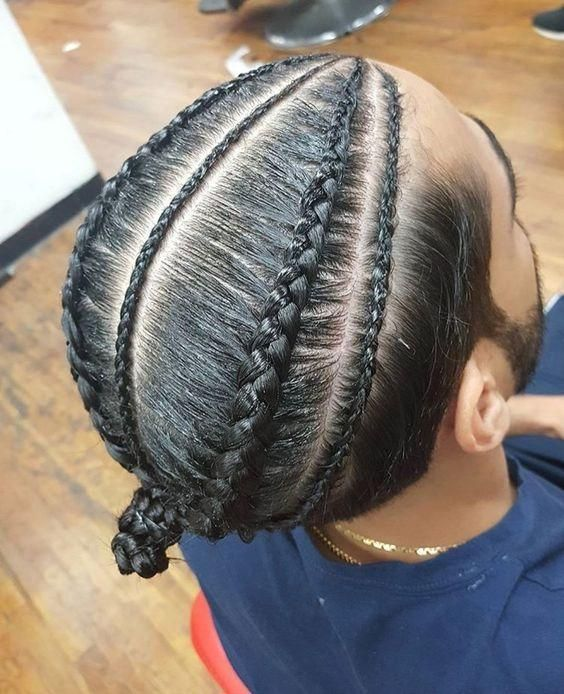 The Best Black Braided Hairstyles For Men Who Turn Their Heads Trend Of The Summer 2018 Boy Braids Hairstyles Hair Styles Braids For Boys