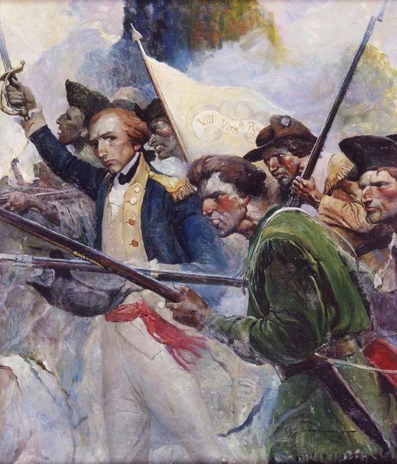 Americans forward!