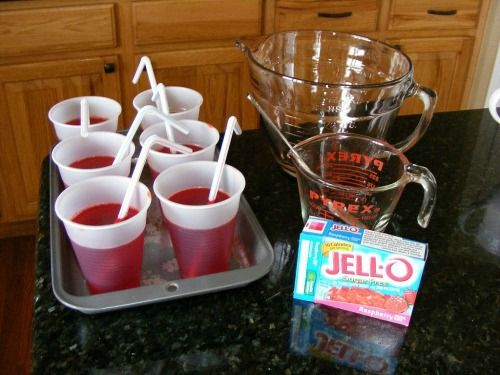 Jello Juice April Fools Day Pranks for Kids: