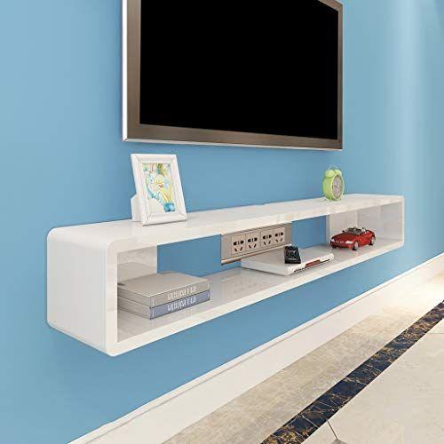 Tv Floating Shelf Wall Mounted Tv Cabinet Wall Shelf Background