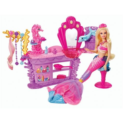 Barbie And The Pearl Princess Mermaid Salon - Over 53,674 Low Priced Products
