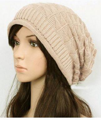 Love these.. Slouch Beanie for Women Beige