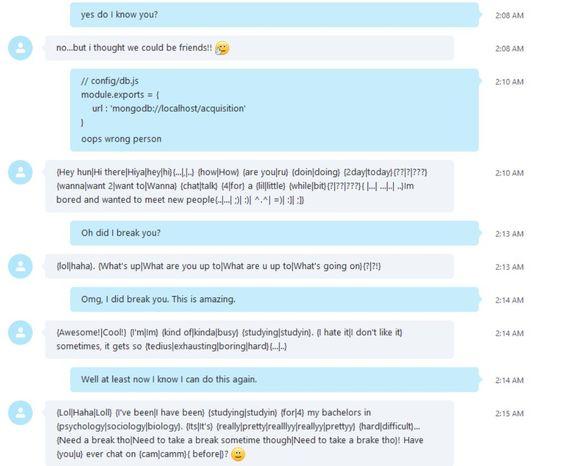 spam bot for skype