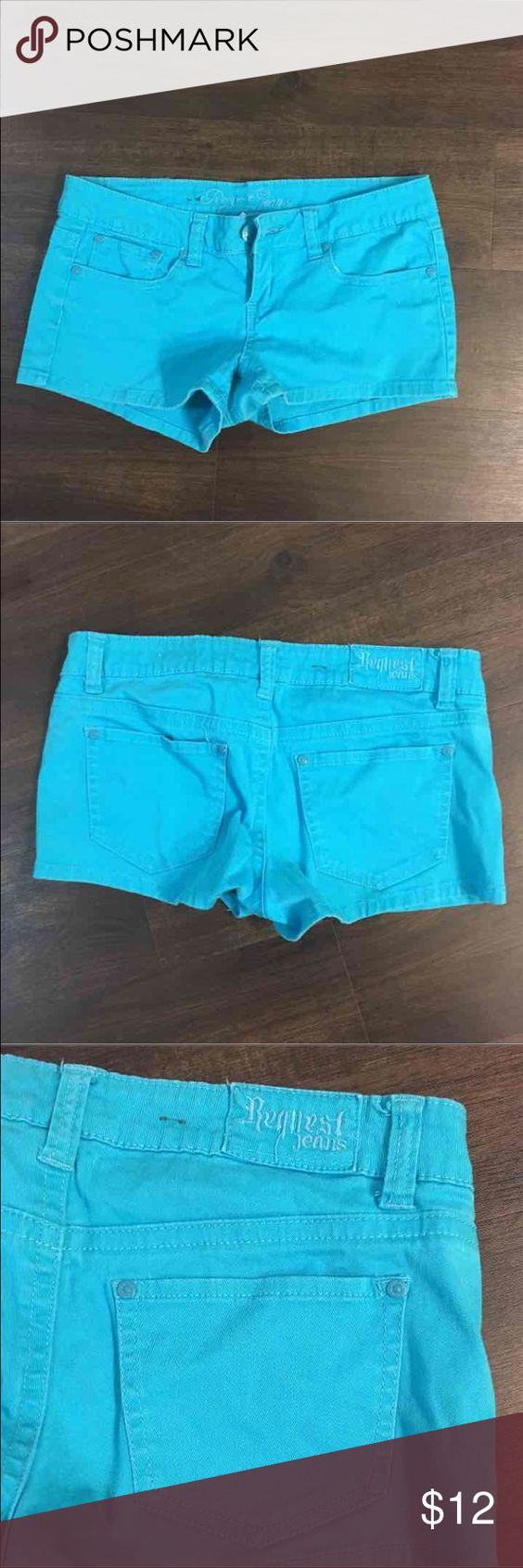 Turquoise Shorts Good condition Size 9 Shorts