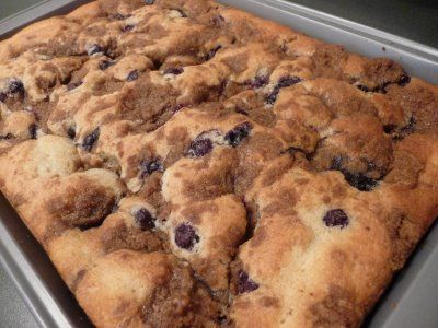 Love At First Bite: Blueberry Buttermilk Coffee Cake | Recipes I want ...