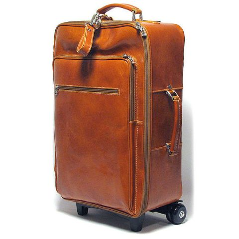 Floto Venezia Wheeled Luggage Honey Brown