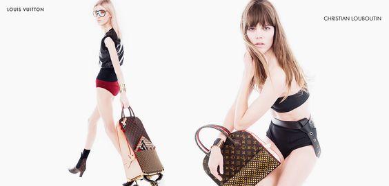 Louis Vuitton #CelebratingMonogram Christian Louboutin