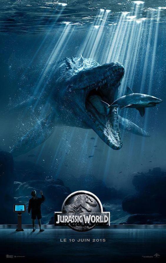3 superbes et flippantes nouvelles affiches du film Jurassic World sont disponibles !