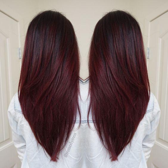 schneiden f rben more hair for work pinterest balayage haarfarbe und form. Black Bedroom Furniture Sets. Home Design Ideas