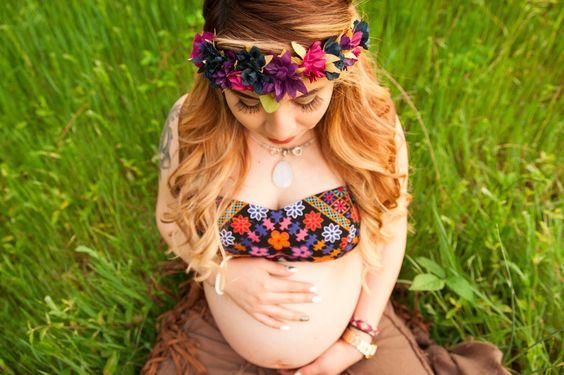 Maternity pics #boho