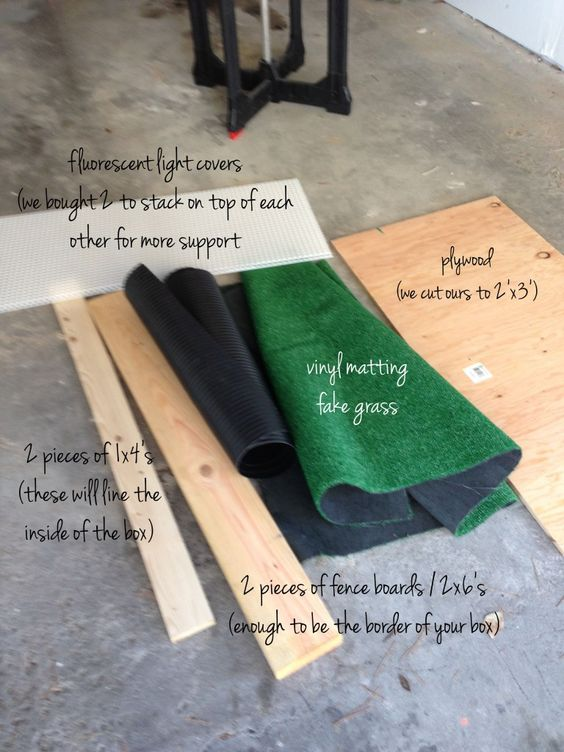 DIY dog potty for porch or patio