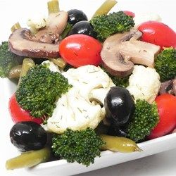 Marinated Vegetable and Olive Salad Allrecipes.com