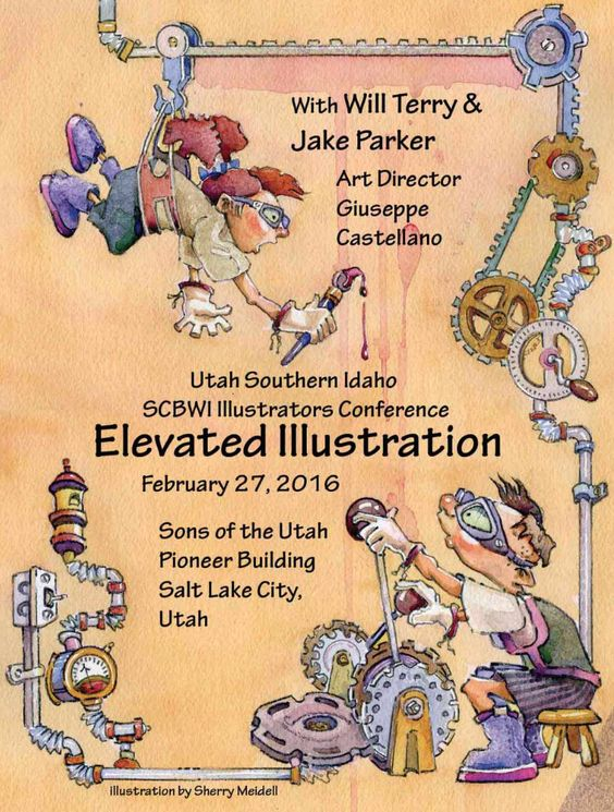 Utah/Southern Idaho SCBWI Illustration Conference 2016 | INK