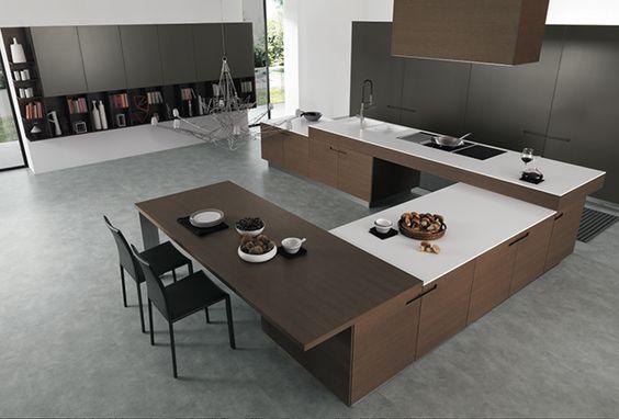 GATHERING, COOKING みんなで囲むキッチン3選  ユーロモビル http://euromobil.jp