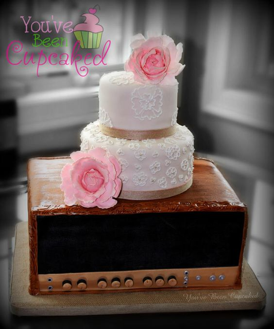 Amp'd up Wedding - Cake by You've Been Cupcaked