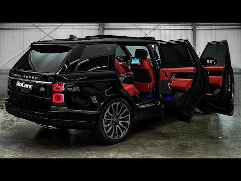2021 Land Rover Range Rover L Sound Interior And Exterior In Detail Youtube Range Rover Black Range Rover Land Rover