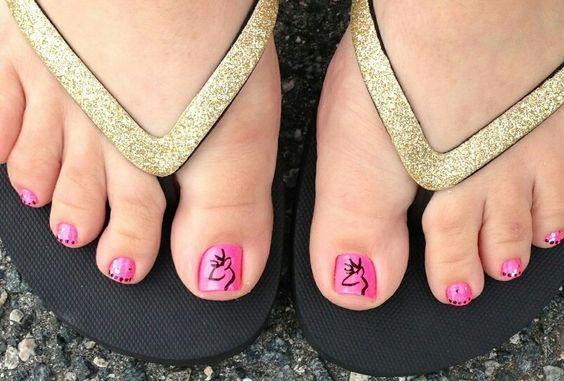 Browning nail art