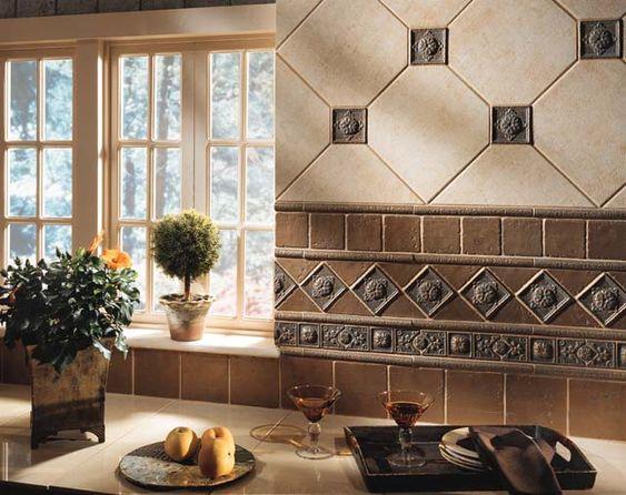 Ceramic Tile Backsplash Design Ideas Gorgeous Inspiration Design