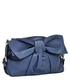 Bow Accent Clutch Bag