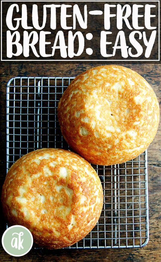 The Best, Easiest Gluten-Free Bread