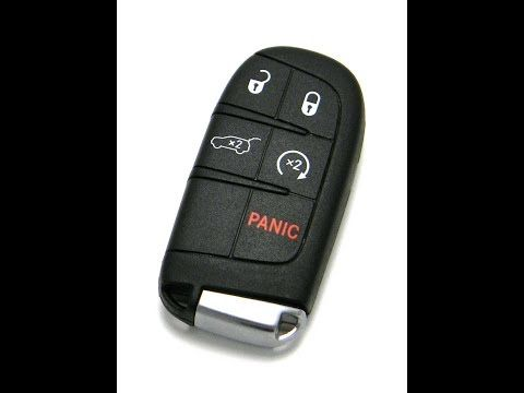 How To Replace Key Fob Battery Jeep Grand Cherokee Youtube