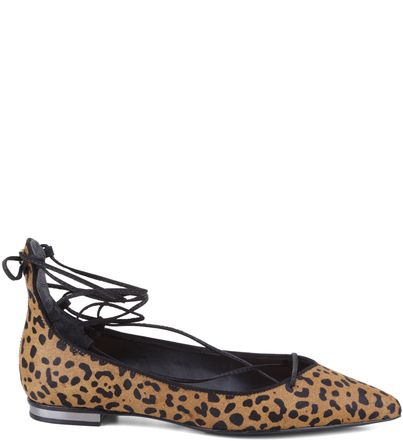 SAPATILHA LACE UP ANIMAL PRINT | Schutz