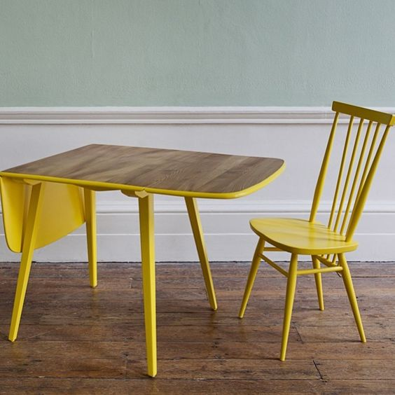 Out of the dark youth charity upcycling ercol furniture for Furniture upcycling