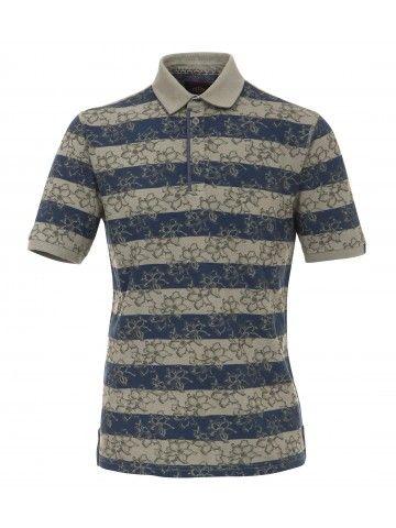 Gestreiftes Polo-Shirt
