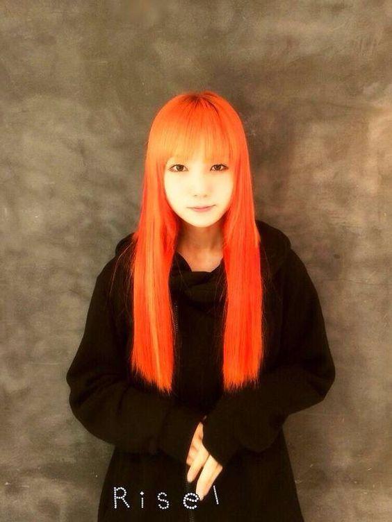 Mami S Flaming Red Hair Scandal Japanese Band