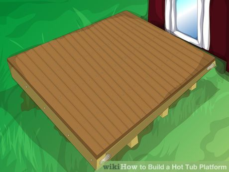 Floating deck hot tubs and decks on pinterest for How much to build a floating deck