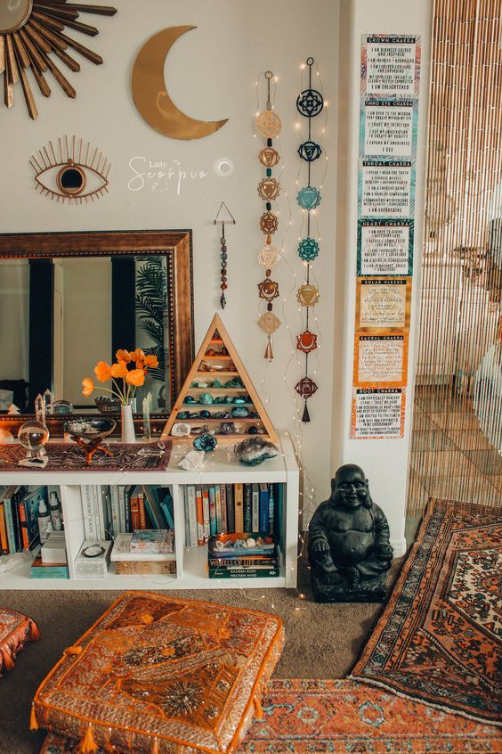 30 Home Decor Themes That Will Make Your Home Look Fantastic Page 20 Of 37 Veguci Boho Room Aesthetic Room Decor Zen Room