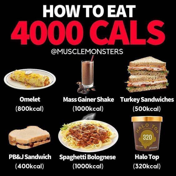 diete 4000 calories)