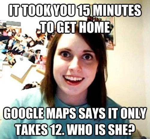 Crazy girlfriend.: