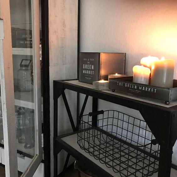Kerzenschein Deko Wohnzimmern