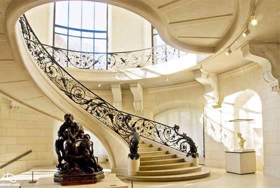 Luxury staircase design interior design decorating ideas for Luxury staircase design