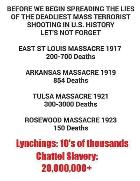 Domestic Terrorism Thousands Killed