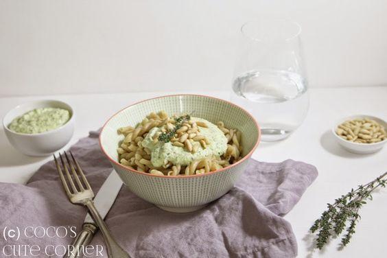 Pasta mit Zucchinipesto - Pasta geht immer