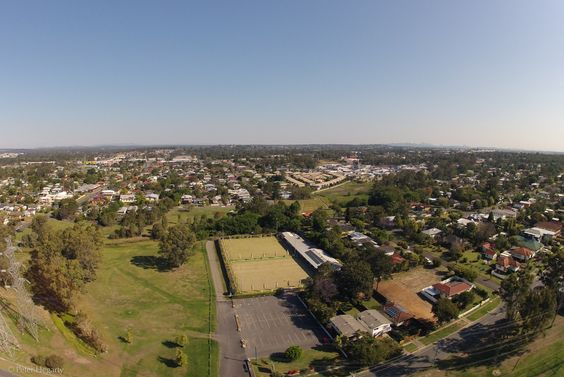 View of the Oxley Bowls Club from about 50 Metres