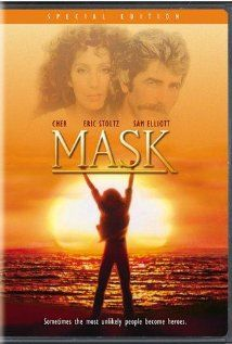 Mask (1985) - Cher, Eric Stoltz & Sam Elliott - Rusty Dennis is the mother of Rocky, a seriously deformed but extremely intelligent and emotionally warm child. Rusty is a no-nonsense mother whose wild lifestyle is often at odds with her tenderness and protectiveness towards Rocky. She is determined that Rocky be given the same chances and happiness that everyone else takes for granted.