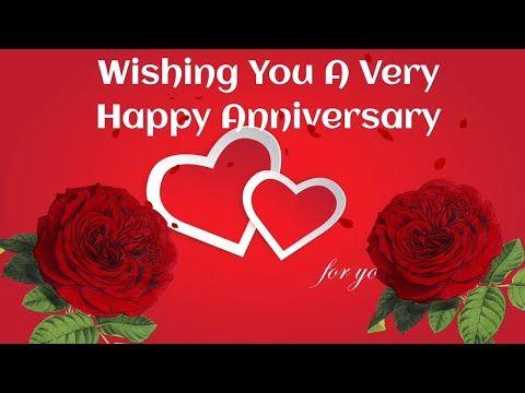 Best Happy Wedding Anniversary Wishes Greetings Video Happy Anniversary In 2020 Happy Wedding Anniversary Wishes Wedding Anniversary Wishes Happy Anniversary Wishes