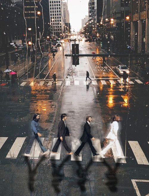 Imagine... the Beatles in Manhattan