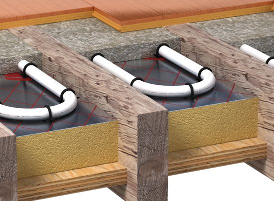Underfloor heating is one of the most cost effective ways to heat your home.  Call