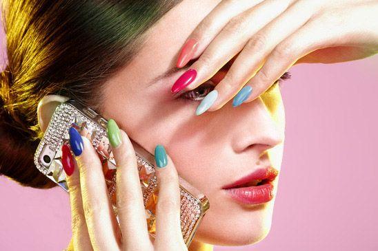 Vintage #Nailart, l'evoluzione della nail art negli anni
