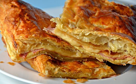 Ioanna's Notebook - Quick and easy Ham & Cheese Pie recipe: