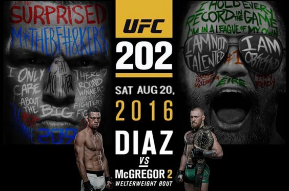 UFC 202 is almost here! #natediaz