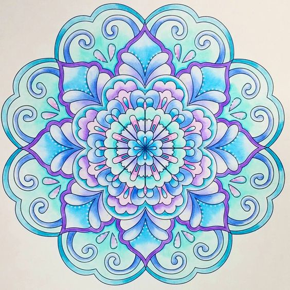 Mandalas To Color Mandalas And Colors On Pinterest