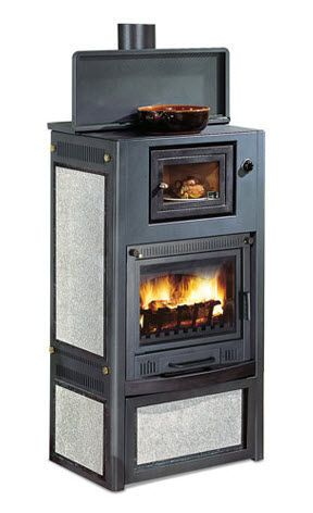 contemporary wood burning stove with oven jolly 5000. Black Bedroom Furniture Sets. Home Design Ideas
