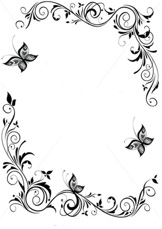 Blue Butterfly Border - ClipArt Best - ClipArt Best More