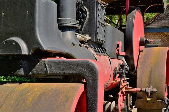 Fahrbare Dampfmaschine