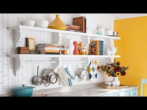اشكال رفوف للمطبخ مذهله ارفف مطابخ لتوفير مساحه كافيه للمطابخ الصغيره افكار للمطبخ الصغير2018 Youtube Kitchen Remodel Design Kitchen Wall Shelves Shelves